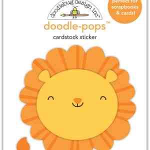Doodlebug Design Doodle Pops Leo Lion