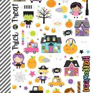 Doodlebug Design Booville Mini Icon Stickers