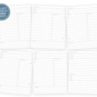 Simple Stories Life Documented Daily Planner Inserts