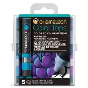 Chameleon Color Tops 5 Pen Set Cool Tones