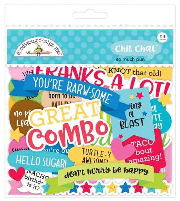Doodlebug Design Chit Chat So Much Pun