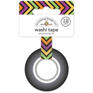 Doodlebug Design Washi Tape Shocking Chevron