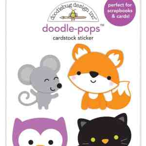 Doodlebug Design Doodle Pops Forest Friends