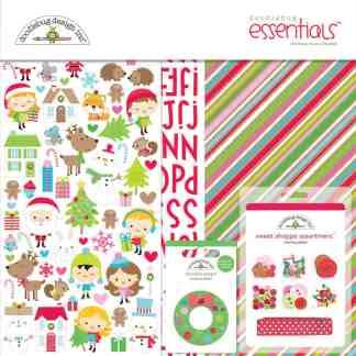 Doodlebug Design 12x12 Essentials Kit Christmas Town
