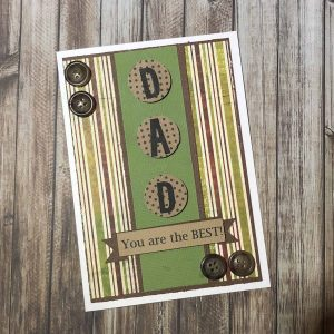 Handmade Card Kit Male A
