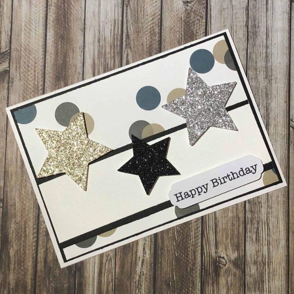 Handmade Card Kit Happy Birthday A