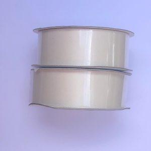 Kaisercraft Ribbon Roll Double Satin Cream