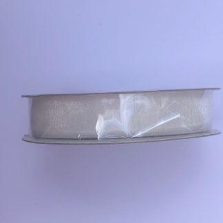 Kaisercraft Ribbon Organza White 13mm