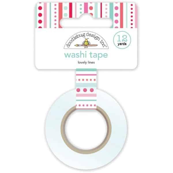 Doodlebug Design Washi Tape Lovely Lines