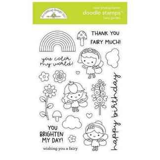 Doodlebug Design Doodle Stamps Fairy Garden
