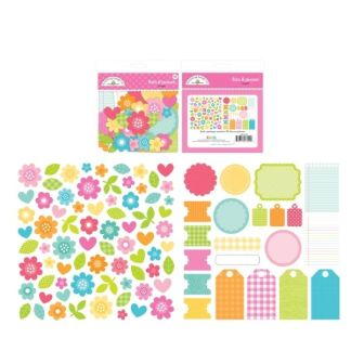 Doodlebug Bits and Pieces Bright