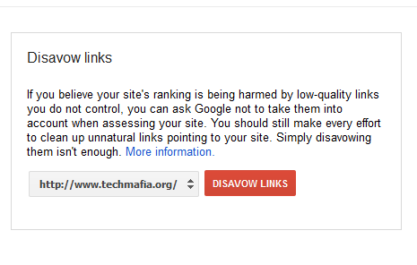 Google Uncovers Disavow Links Tool