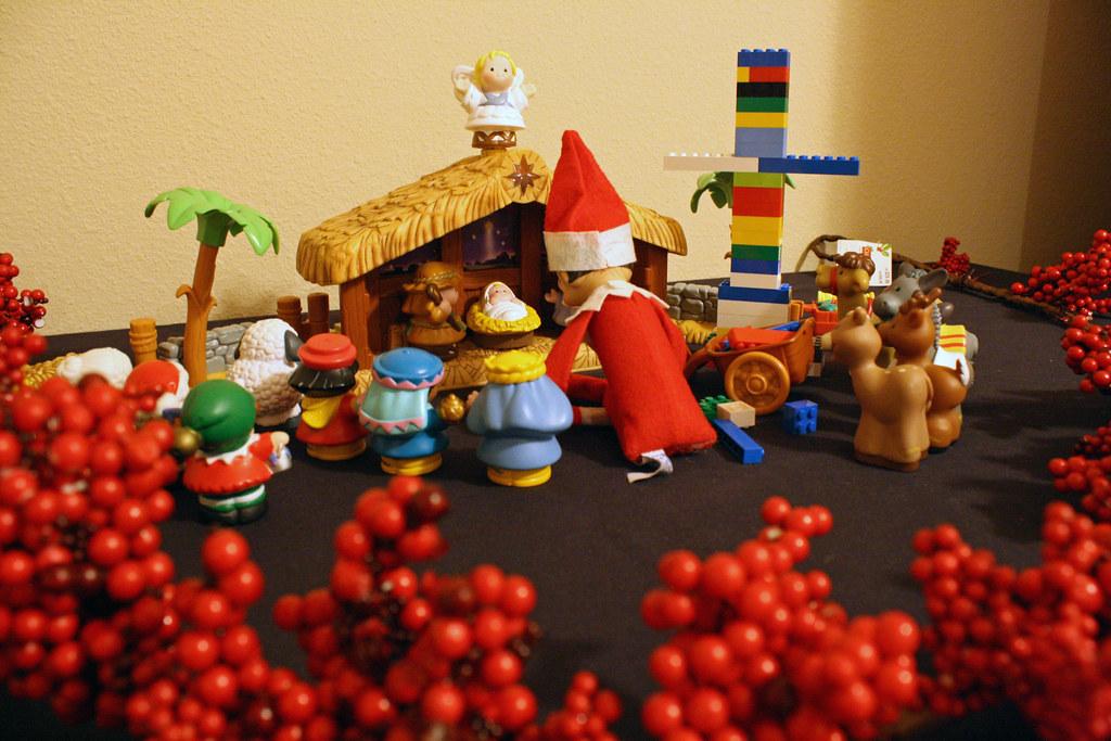 elf on the shelf kerst