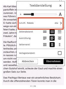 Screenshot Textdarstellung neu 1