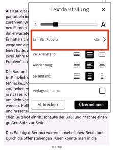 Screenshot Textdarstellung neu 1