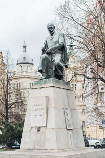 23 Prag, Tschechien, Czech Republic, sightseeing, city, statue