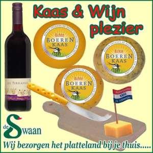 Kaas kerstpakket - streek kerstpakket gevuld met streekproducten van kaas - www.kerstpakkettencadeaubon.nl