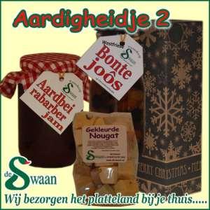 Relatiegeschenk Aardigheidje 2 - streek kerstpakket gevuld met huisgemaakte streekproducten - www.kerstpakkettencadeaubon.nl