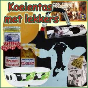 Kerstpakket Koeientas - Streekpakket koeientas gevuld met lokale boerenkaas en streekproducten - Streekpakket Specialist - www.kerstpakkettencadeaubon.nl
