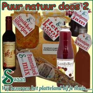 Kerstpakket Puur Natuur 2- Streek kerstpakket gevuld met puur Noord-Hollandse streekproducten - www.kerstpakkettencadeaubon.nl