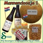 Kerstpakketten thema man Kerstpakket mannen - streek kerstpakket gevuld met streekproducten voor de man - www.kerstpakkettencadeaubon.nl