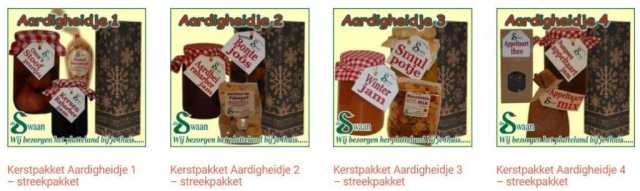 Streekproducten Specialist van Gelderland - Relatiegeschenken bestellen en bezorgen Nederland. Specialist in een aardigheidje een relatiegeschenk gevuld met lokale streekproducten - www.KerstpakkettenCadeaubon.nl