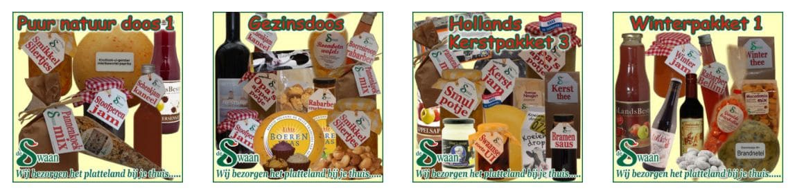 Kerstpakketten bestellen online | Bestel je kerstpakket per stuk online! - Zoek een origineel kerstpakket zelf uit bij - www.kerstpakkettencadeaubon.nl