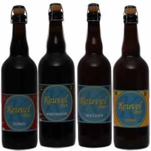 Keuvel Bierpakket Groot 4 - Westfiese speciaal Keuvel bier gebrouwen in Noord-Holland - Bierpakketten Specialist - www.kerstpakkettencadeaubon.nl
