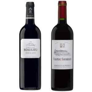 Wijnpakket Bordeaux 2 - Wijngeschenk gevuld met luxe wijnen uit Frankrijk - Kerstpakket wijn - www.kerstpakkettencadeaubon.nl