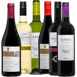 Wijnpakket Spanje 6 - Wijngeschenk gevuld met luxe wijnen uit spanje - Kerstpakket wijn - www.kerstpakkettencadeaubon.nl