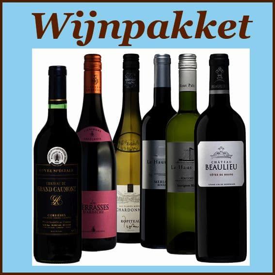 Wijnpakket specialist Noord-Holland - Kerstpakketten gevuld met wijn - Kerstpakket wijn - www.KerstpakkettenCadeaubon.nl