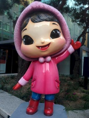 kawaii street photography korea by pablo kersz