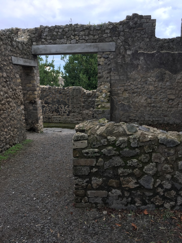 The Roman city of Pompeii vanished with a volcanic eruption in A.D. 79