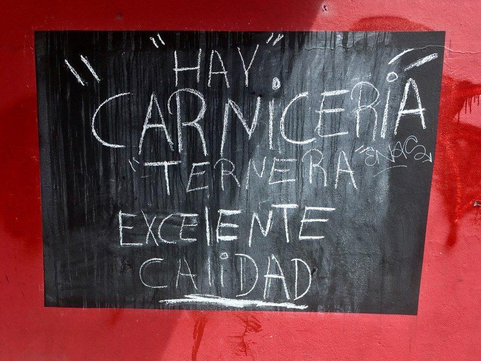 Hay Carnicería #buenosaires #argentina #meat #beef #travel #traveler #traveling #streetphotography #world #instatrip #instagram #instatravel #instaphoto #igtravel #igtraveller #instatraveling #instaartist #photo #photographer #instalikes #likeforfollow #photooftheday #travelphotography #travelblogger #luxury #aroundtheworld #wanderlust