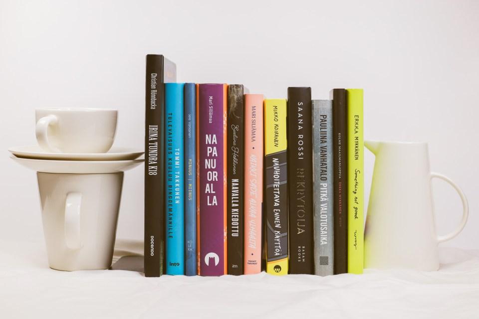 Uusia kirjoja syksyllä ja kesällä