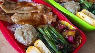 弁当LOG 20171118 豚焼肉弁当