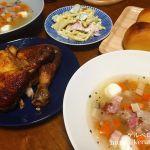 夕飯LOG 20171123 野菜とベーコンのスープの献立