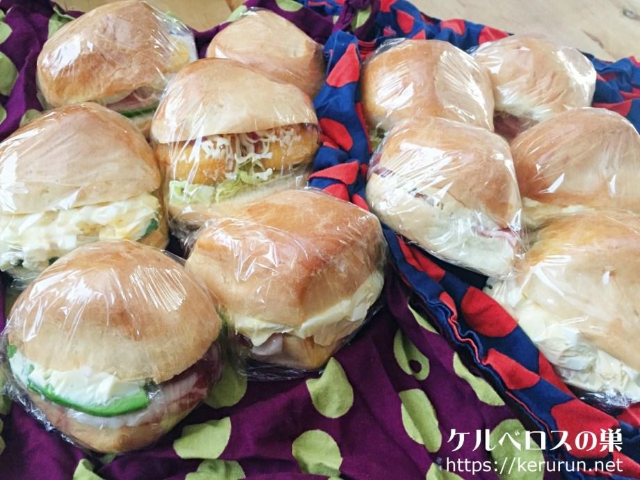 【コストコクッキング】マスカルポーネロールのサンドイッチ