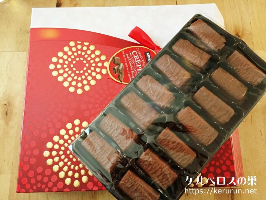 【コストコ】ロックマリアクレープチョコレート