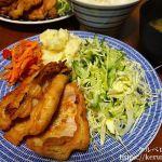 夕飯LOG 20180222 豚の生姜焼き定食