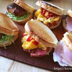 弁当LOG トーホーベーカリーのラウンドパンで作るサンドイッチ弁当