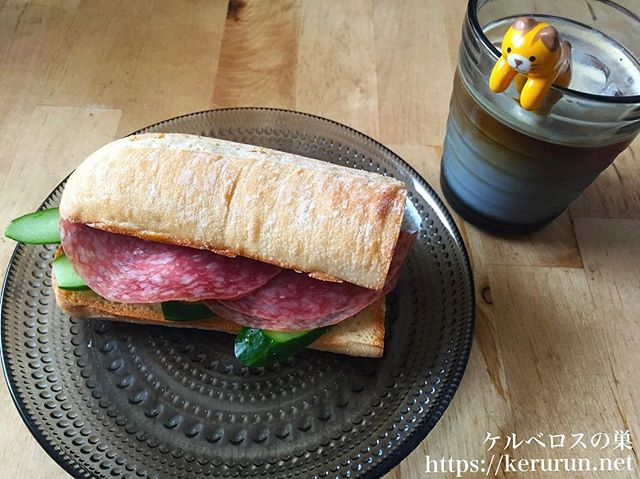 【コストコクッキング】ソフトバゲットのサンドイッチ