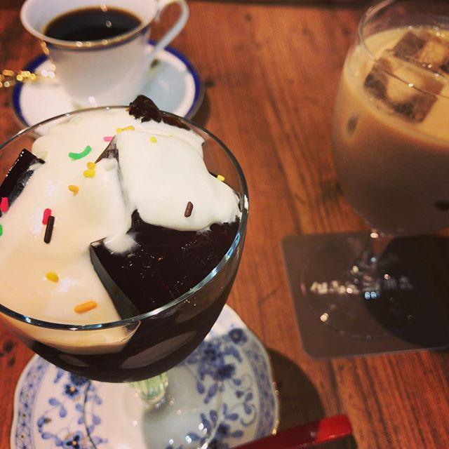 【吉祥寺】但馬屋珈琲吉祥寺店のコーヒーゼリー