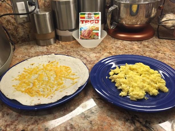 My Best Ever Bruin Breakfast Burrito!