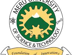 Meru University of Science and Technology Sept. 2020 Intake