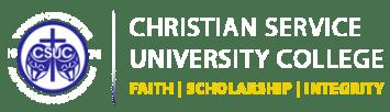 Christian Service University College Admission Letter 2021/2022