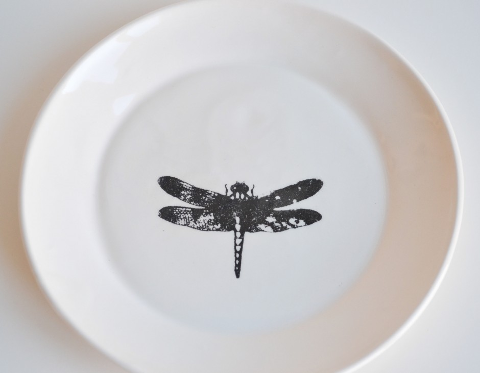 Dragonfly plate & Dragonfly plate - Kesemy Design