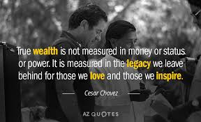 Wealth is measured in the legacy we leave behind. Make sure you leave your family a legacy.
