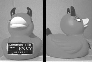 První sledovatelný předmět: Deadly Duck: Envy