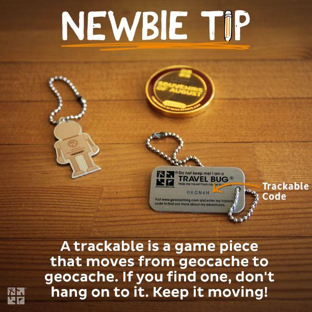 Sledovatelné předměty jsou součástí hry! Nenechávej si je, ale přemísťuj je mezi keškami!